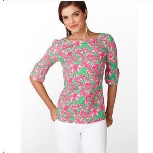 Lilly Pulitzer In Full Bloom Print Size Large